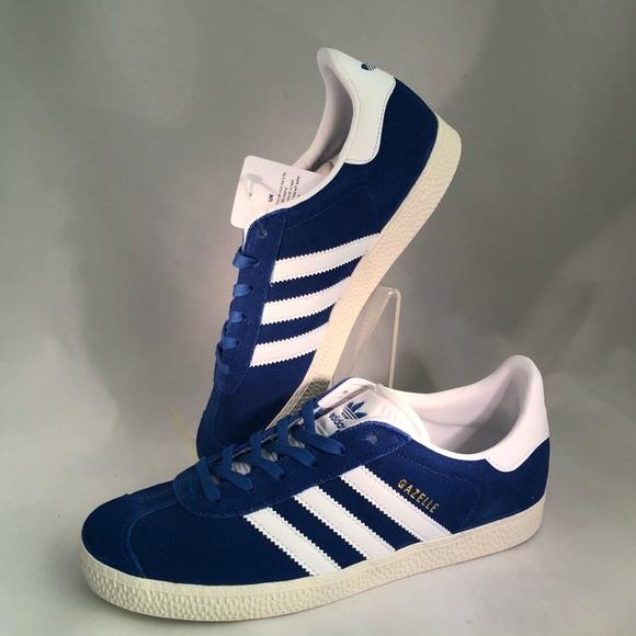 new arrival f727d 5f0a4 Adidas Originals Gazelle Blue Big Kid Sneaker Sz 6